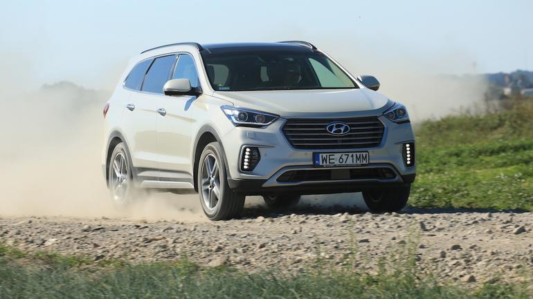 Hyundai Grand Santa Fe 2.2 CRDi Platinum