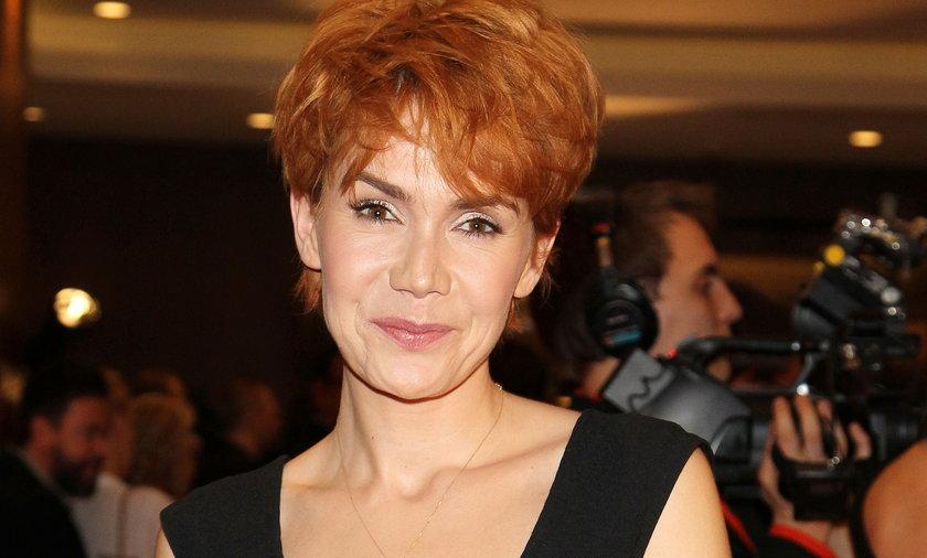 Olga Bołądź ruda.