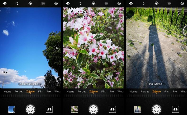 Huawei P20 Pro. Ustawienia kamery