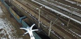 Dron łapie złodziei w PKP Cargo!