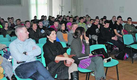 Igor Jurić na jednom od predavanja