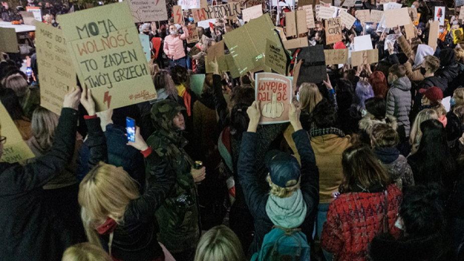 Manifestacja w Stargardzie