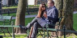 Marta Kaczyńska z ukochanym. Ale... co on robi?!