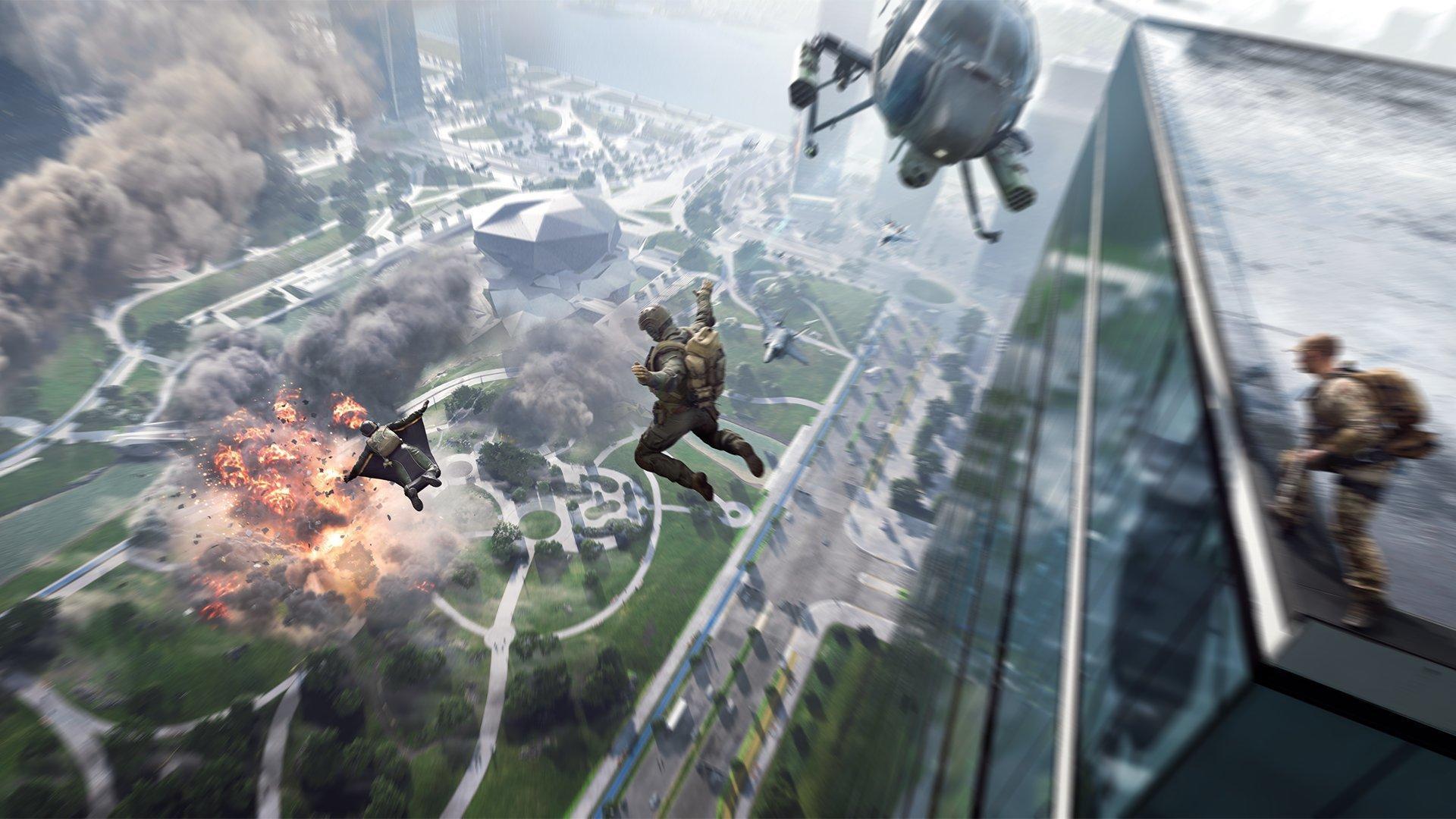 Zoskok z budovy nemusí hneď znamenať smrť alebo nutnosť otvorenia padáku.