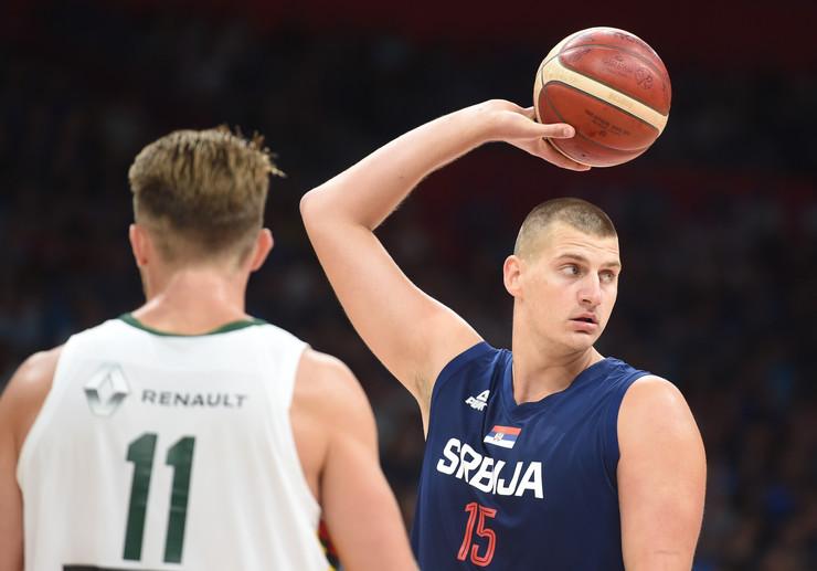 Košarkaška reprezentacija Srbije, Košarkaška reprezentacija Litvanije