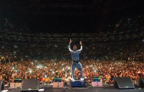 Wizkid's groundbreaking appearance at the O2 Arena [MichaelTubes]