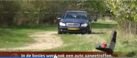 Mercedes u kojem je pronađen srpski bračni par