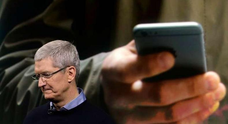 Apple CEO Tim Cook(AP)