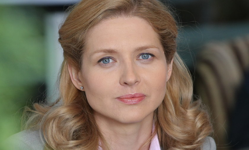 Urszula Grabowska w serialu Na Krawędzi