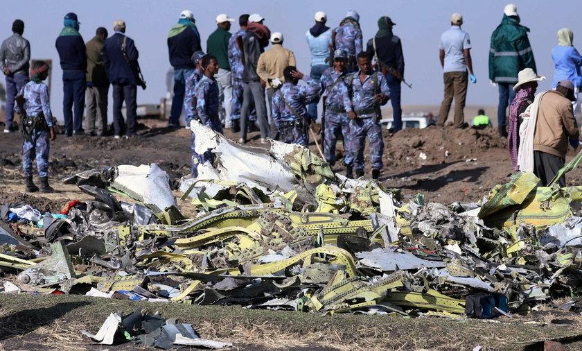Marcowa katastrofa w Etiopii