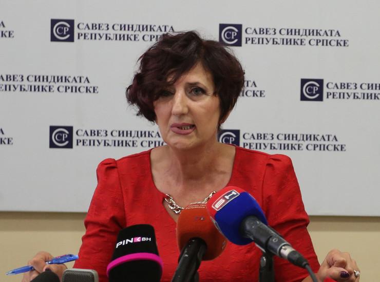 Ranka Misic Savez sindikata RS