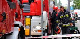 Pożar w fabryce farb i lakierów w Dębicy. Ranny pracownik