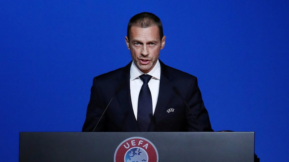 FILE PHOTO: Football Soccer - UEFA Euro 2020 Munich Logo Launch