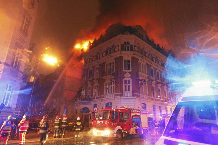Wybuch gazu w Katowicach