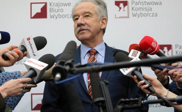 Pod koniec lutego Hermeliński mówił, że chce spotkania z szefem MSWiA w sprawie transmisji z lokali wyborczych i środków na wybory