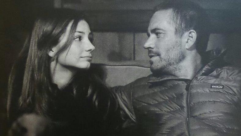 Medow i jej ojciec Paul Walker