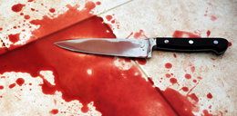 Dźgnął kolegę nożem w oko. Ukrył się w piwnicy