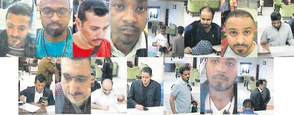 Ovo su 15 Saudijaca koji su došli u konzulat u isto vreme kad i Kašogi