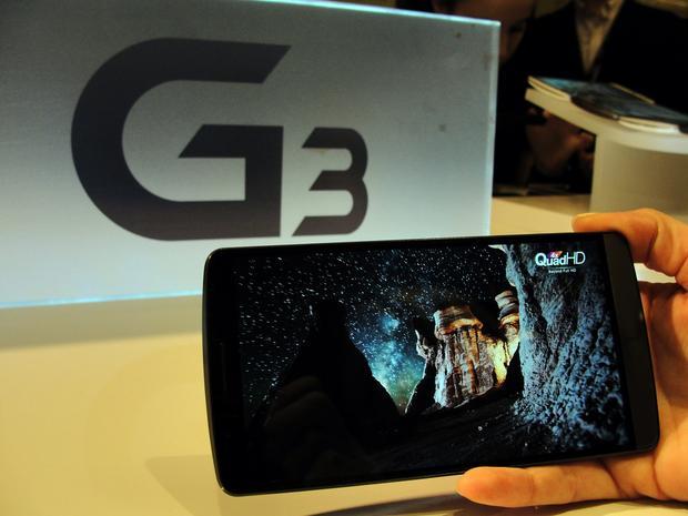 LG G3 na pokazach w San Francisco