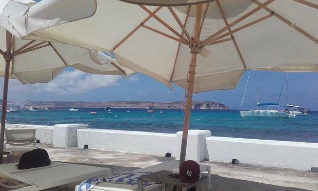 Widok na Gozo z Malty