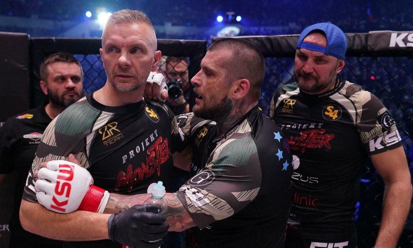 Sensacją ostatniej gali KSW była wygrana aktora Tomasza Oświecińskiego z Popkiem