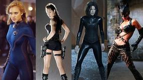 Piękne aktorki w kostiumach filmowych