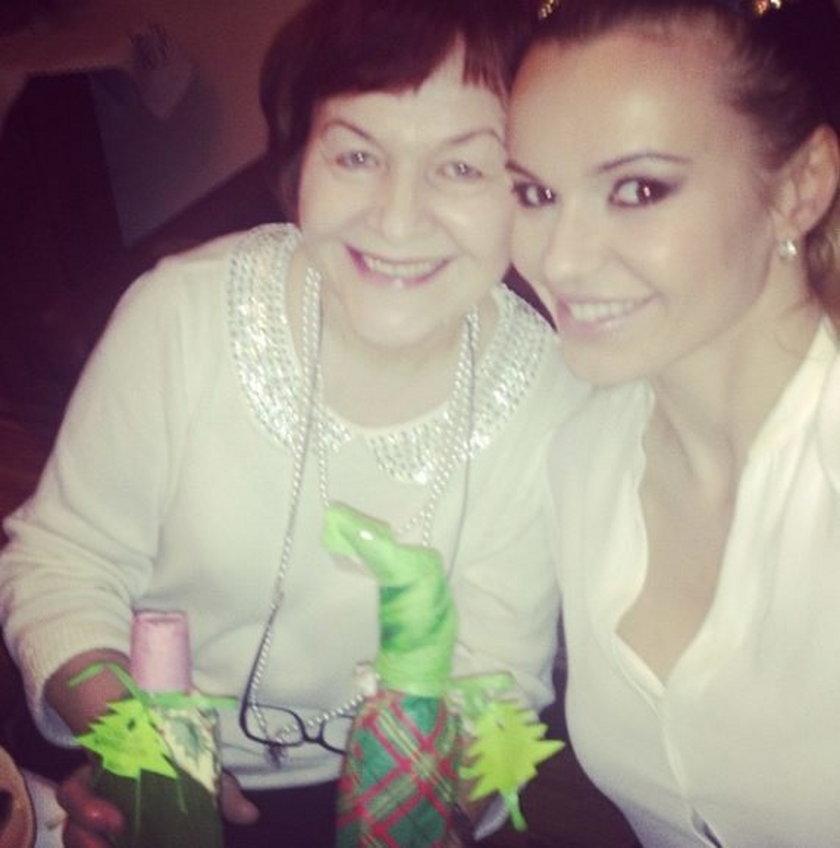 Doda z mamą Wandą Rabczewską