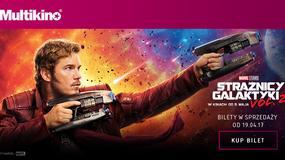 """Bilety na film """"Strażnicy galaktyki 2"""" już w sprzedaży w sieci Multikino"""