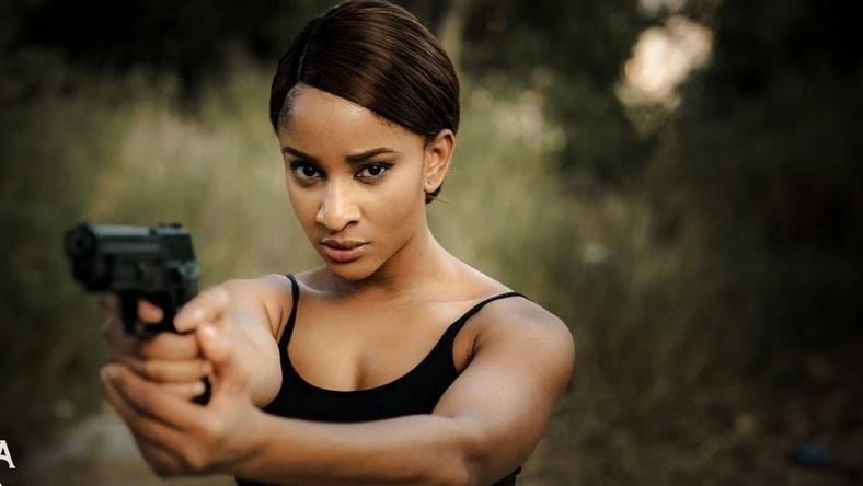 Adesua Etomi-Wellington proves that she's set for the global stage as she plays Muna in new film, 'Muna' [Instagram/Munathemovie]