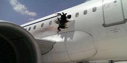 Horror na pokładzie! Pasażera wyssało z samolotu
