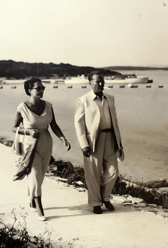 Jovanka i Josip Broz Tito