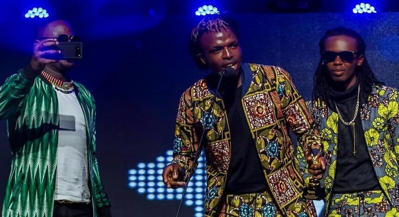 Timeless Noel and Jabidii. Singer Jabidii wins prestigious Award in Ghana