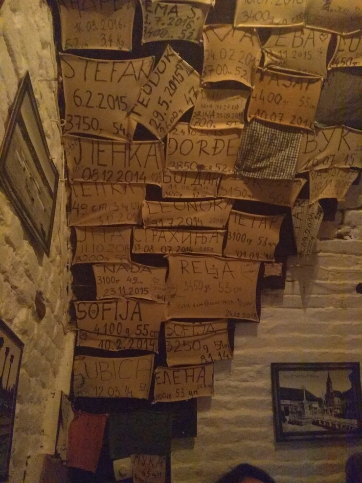 tavanica u Zemunu