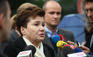 Gronkiewicz-Waltz: Czekamy na ustawę, która do końca rozwiązałaby sprawę reprywatyzacji