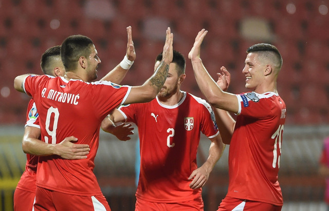 Fudbaleri Srbije