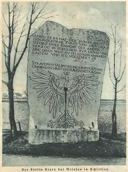 Pomnik w Brzezinie na Dolnym Śląsku