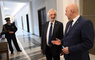 Dymisja Kuchcińskiego? Brudziński: Nie ma pomysłów, by dokonać wymiany marszałka Sejmu