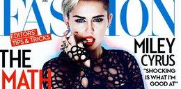 """""""Rozebrana"""" Miley na okładce """"Fashion Magazine"""""""