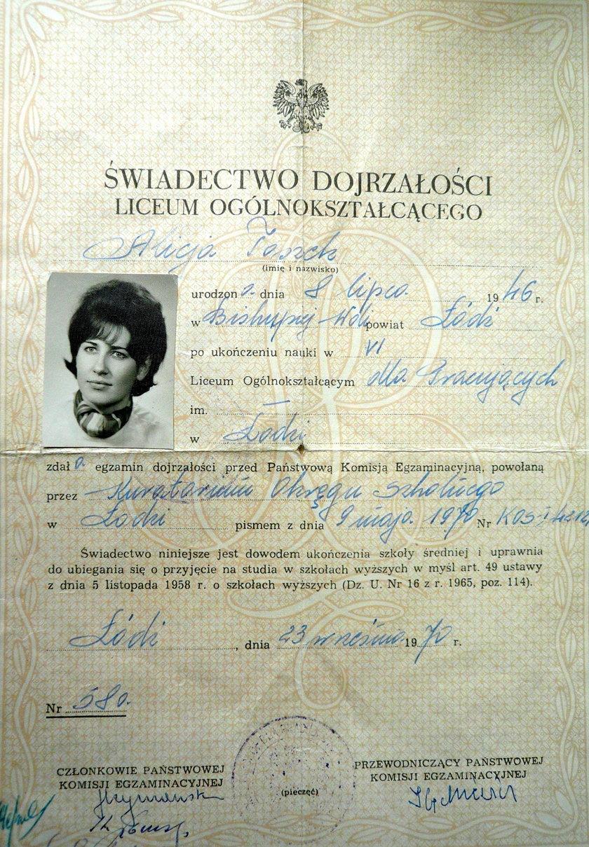 matura z 1970 roku