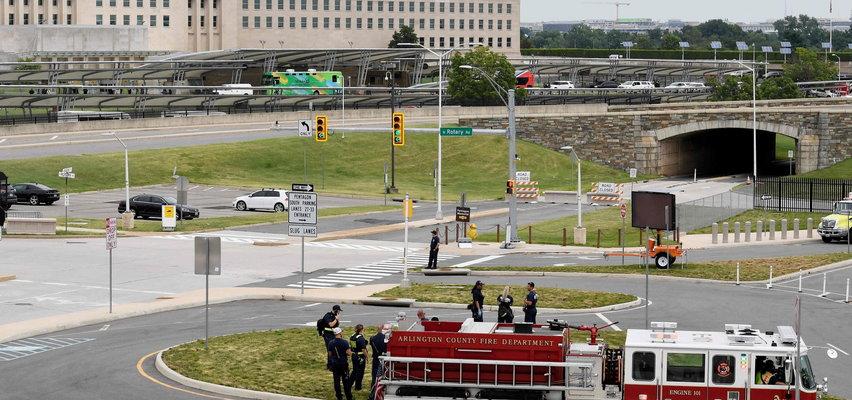 Strzelanina przed Pentagonem! Są ranni, nie żyje policjant
