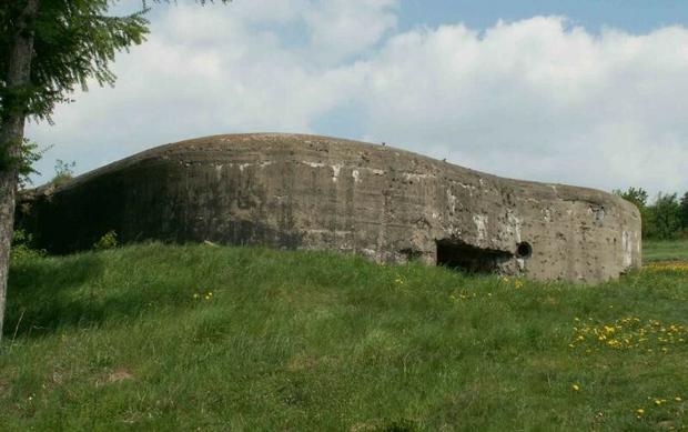 Jeden z bunkrów w Węgierskiej Górce