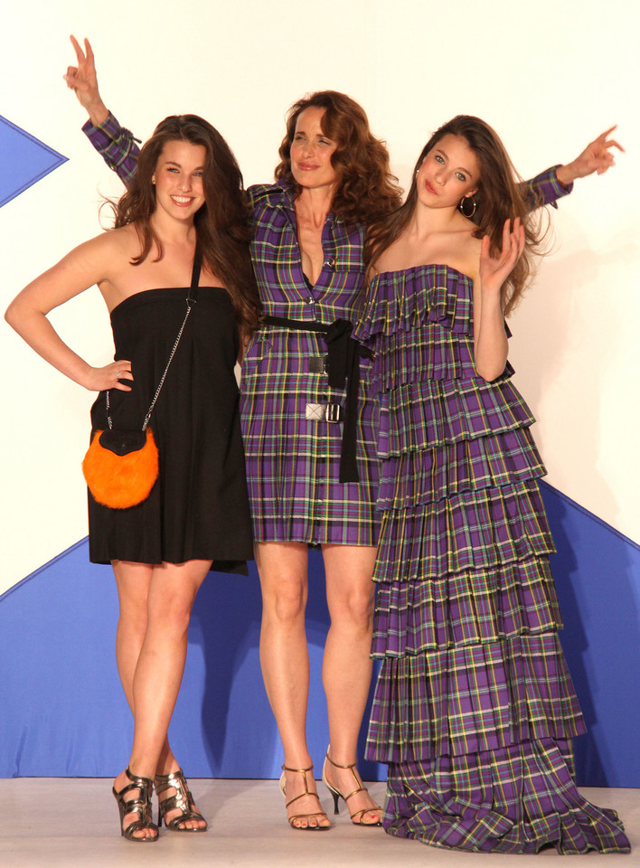 Margaret Qualley, Andie MacDowell, Rainey Qualle