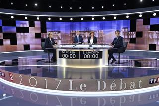'Le Soir' o debacie Macron-Le Pen: Smutny spektakl