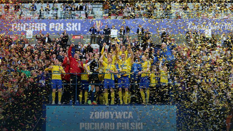 Puchar Polski: Arka Gdynia sięgnęła po trofeum po raz drugi w historii