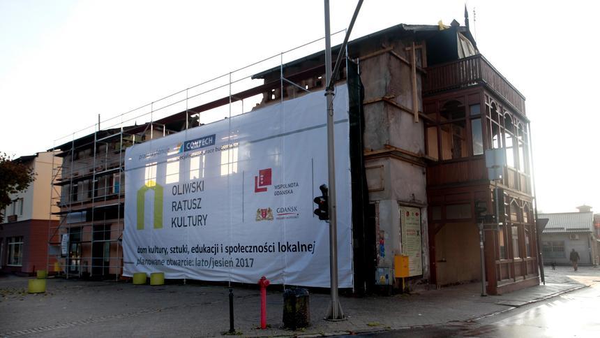 W Gdansku Oliwie Powstaje Oliwski Ratusz Kultury