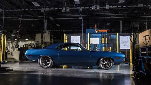 SpeedKore Plymouth Cuda o mocy 720 KM