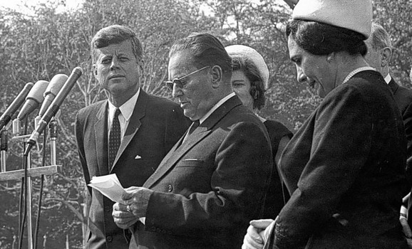 Josip Broz Tito i Džon Kenedi