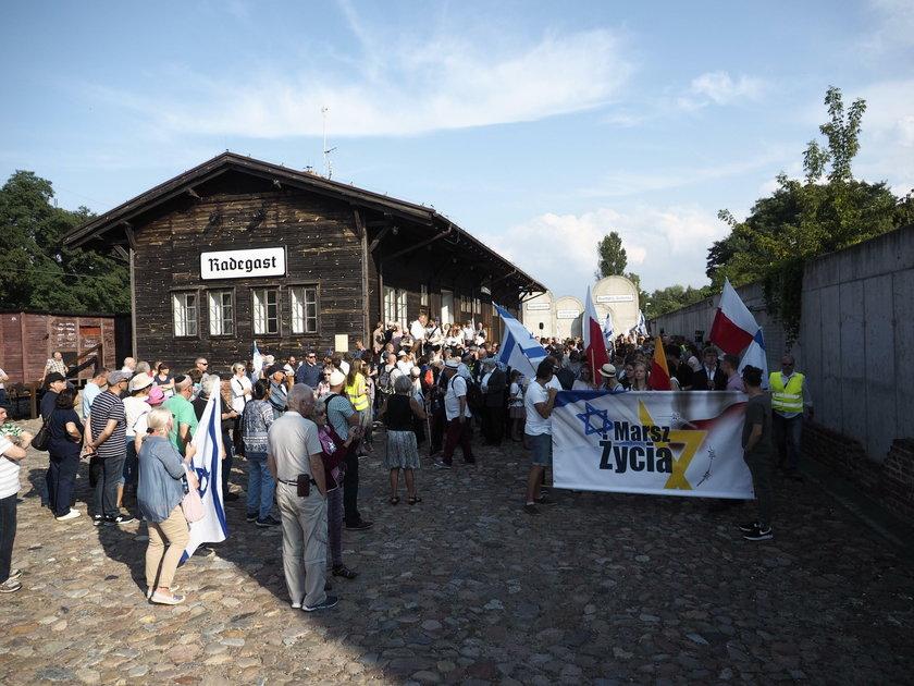marsz życia, Łódź