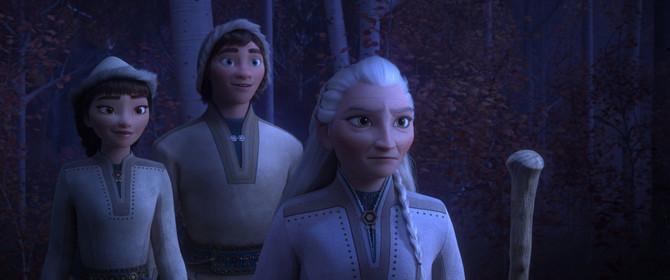 """Rejčel Metjuz u """"Frozenu"""" - prva levo"""