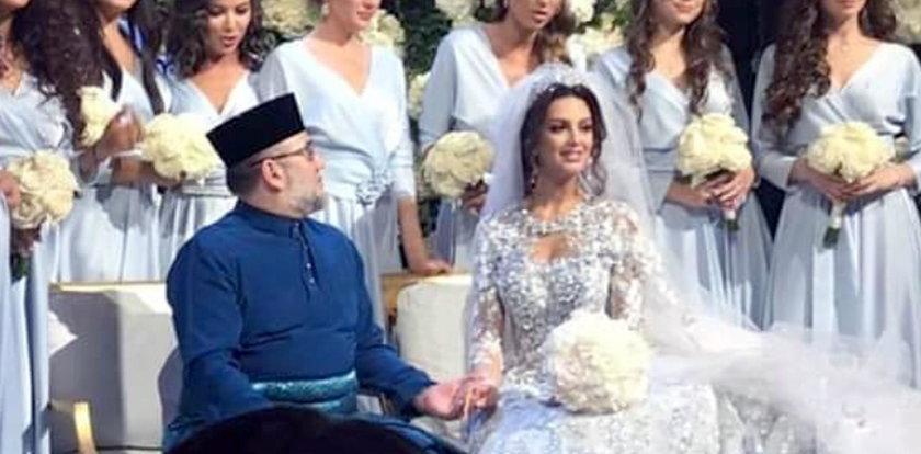 Rozwód osiem miesięcy po ślubie. Były król Malezji rozstał się z miss Moskwy